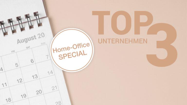Offene Positionen bei Top-Unternehmen im August 2020 - Home Office Special